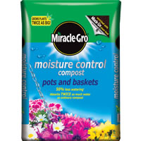Miracle Gro Moisture Control compost