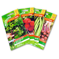 Suttons vegetable seeds